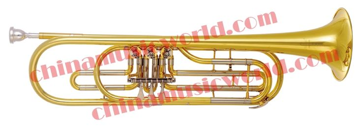 485.00$  Watch now - http://ali3bp.worldwells.pw/go.php?t=32654950249 - China Music World Yellow Brass Bass Trumpet (CMWBT-1400) 485.00$