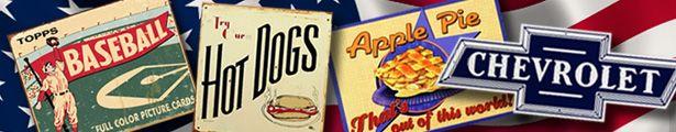 Baseball Hot Dogs Apple Pie Chevrolet