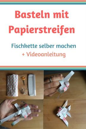 Bastelanleitung: Basteln mit Papierstreifen um eine Fischgirlande fürs Kinderzimmer selber zu machen. Die schrittweise Anleitung um Papierstreifen zu flechten findest du hier: http://welt-der-kinderknete.de/basteln-mit-papierstreifen/ Fröbelstern, Papierstreifen Deko, Basteln mit Papier, Papierdeko, Fisch aus Papier basteln