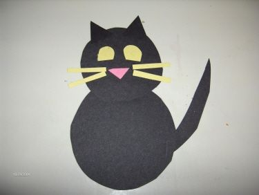 Best 25 halloween cat crafts ideas on pinterest arts for Cat art and craft
