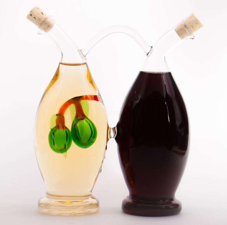 Cruet Oliva http://bellebottles.com/shop/olive-oil-and-vinegar-cruets/cruet-oliva/ #olivaoil #vinegar #oliveoilvinegarcruet #designed #handmadeproduct