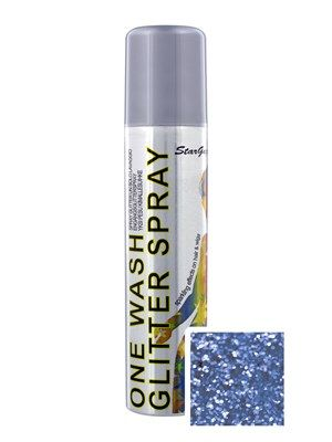 Want to know every mermaid's secret to magical, luscious locks? Spray in glitter, of course! This gorgeous Blue spray is as dreamy as the ocean! Add some glittery magic with Stargazer's temporary Glitter Spray. Washes out in one wash for the easiest way to sparkle and shine. IMPORTANT NOTE! Due to UK postage restrictions we cannot post this item outside of the UK. We will cancel any Non-UK orders containing this product.