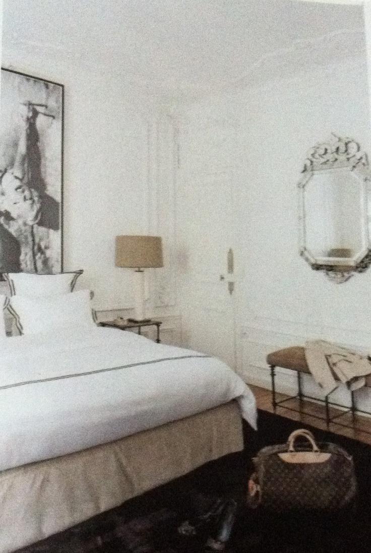 beautiful bedroom - colors