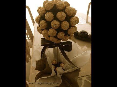 Topiario Ferrero Rocher - YouTube
