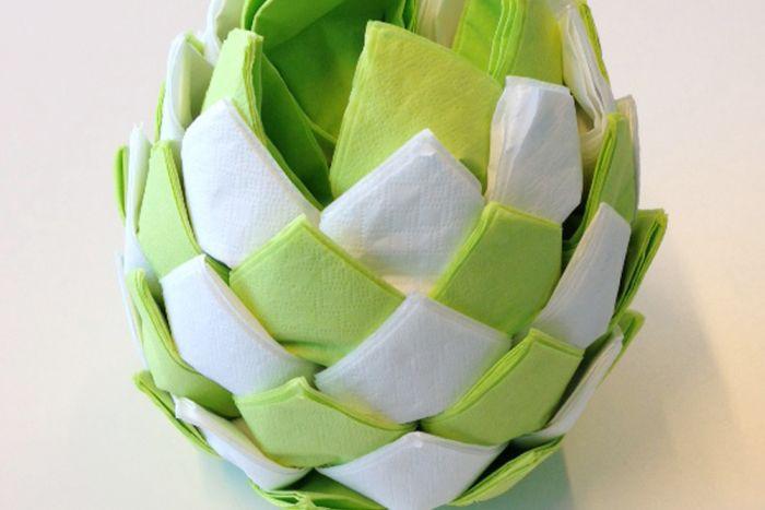 Maak zelf je tafeldecoratie met servetten! (libelle.be)
