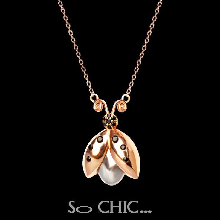 #sochic #annelergunu #mothersday #gift #hediye #necklace #sonsuzluk #eternity #gümüş #silver #eternal #mother #anne #ugurbocegi #ladybug