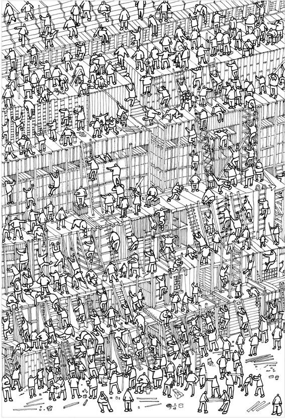 wheres waldo coloring pages - photo#33