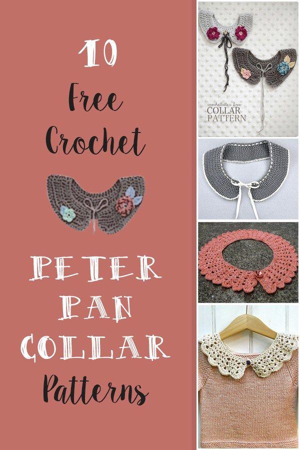Free Crochet Peter Pan Collar Pattern. List of free crochet peter pan collar…