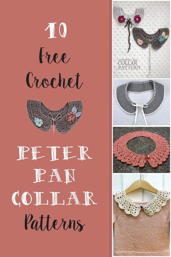Free Crochet Peter Pan Collar Pattern. List of free crochet peter pan collar…