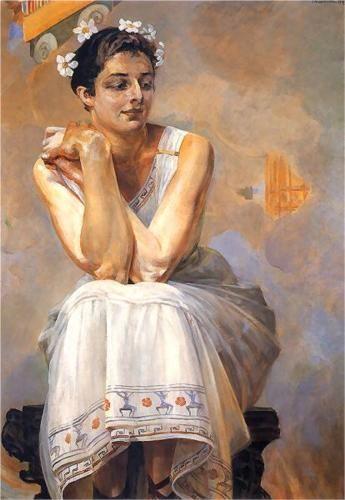 Pythia - Jacek Malczewski 1917