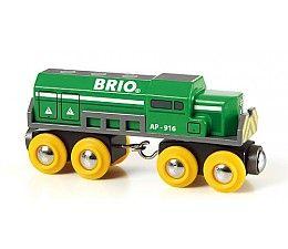 Brio treinen Diesellocomotief 33693  http://www.brio-trein.nl/brio-treinen-33693-diesellocomotief.html