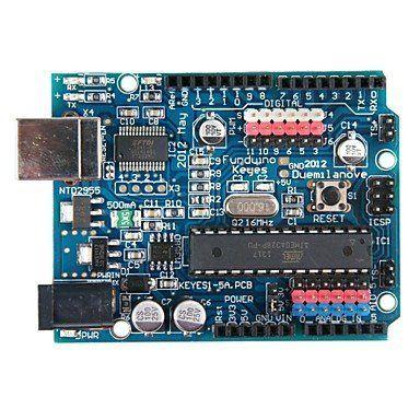 (Arduino Duemilanove) con AVRmega328P-PU (20MIPS) - http://www.midronepro.com/producto/arduino-duemilanove-con-avrmega328p-pu-20mips/