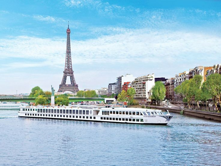 Paris via - Uniworld River Cruise on the River Baroness