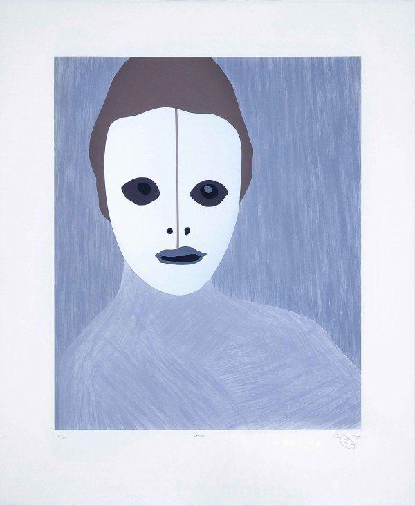 Gran - Gary Hume - InvesArt Gallery, you can see more at: http://archesart.co.uk/Works/viewPrint/NjY2Ng==