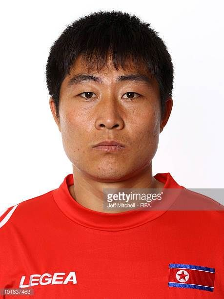 Kum Chol Choe of North Korea poses during the official FIFA World Cup 2010 portrait session on June 4 2010 in Johannesburg South Africa