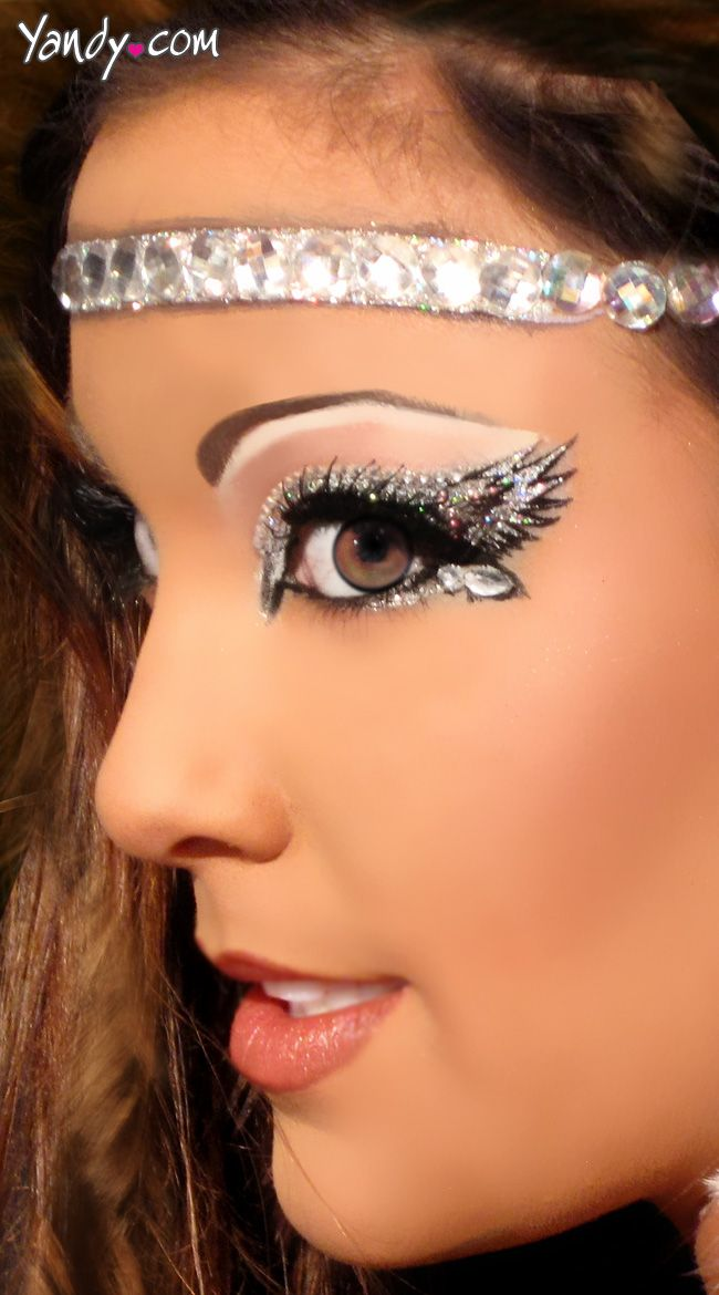 Angelic Eyes Kit, Angel Costume Eye Adhesive, Angel Halo #halloween makeup