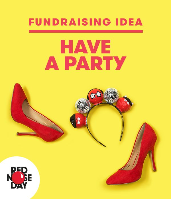 Throwing a Red Nose Day party couldn't be simpler. Get a few friends over, paying a donation each, for a fun night in. Sing, dance, laugh and just have a great time and raise some cash. Get more fundraising ideas on our website.