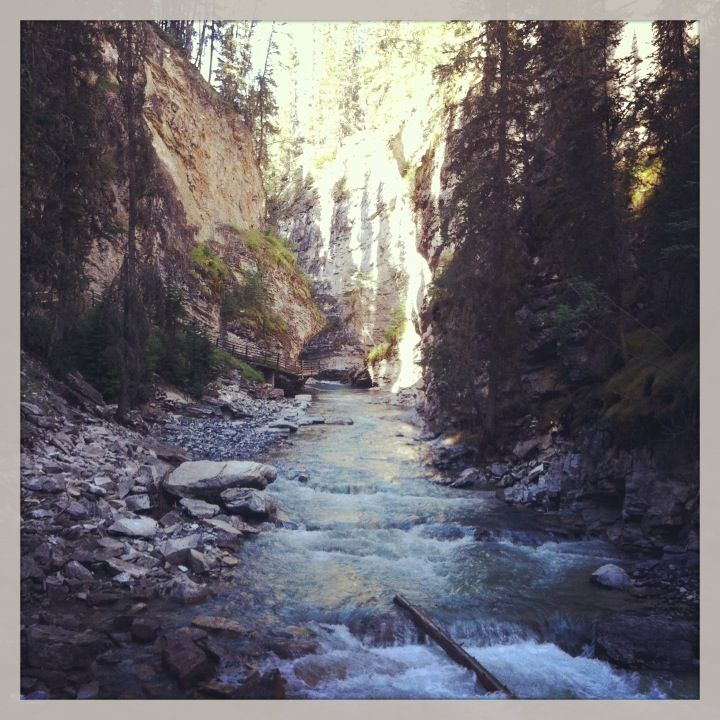 Johnston Canyon in Improvement District No. 9, AB