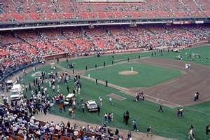 The Loma Prieta, California, Earthquake hit... during the world series?? October 17, 1989,