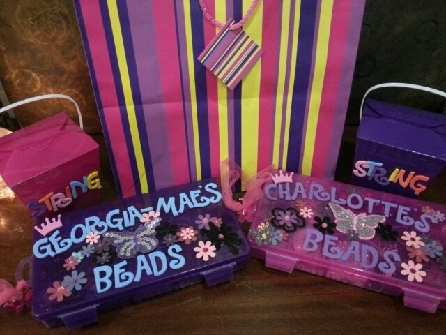 Beautiful Personalised Beading Boxes packed with hours upon hours fun! Guaranteed to occupy and bring out the creative side! of any child or adult! The only downside is it is very addictive! For only AU$45. Contact traceystrickland@live.com.au