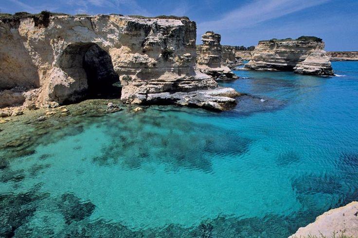 Per chi è ancora in vacanza ecco un meraviglioso posto da visitare in #Italia #santamariadileuca #vacanze #mare #holiday #paesaggi #giampaoloscacchi