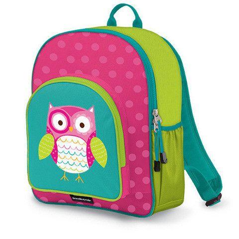 Crocodile Creek Backpack - Owl http://pumpkinpiekids.com/products/backpack-owl