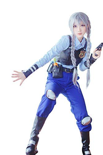 Introducing Nuoqi Anime Bunny Rabbit Judy Cosplay Costumes Full Set Outfits Cop Uniforms CC2392AM. Get Your Ladies Products Here and follow us for more updates!