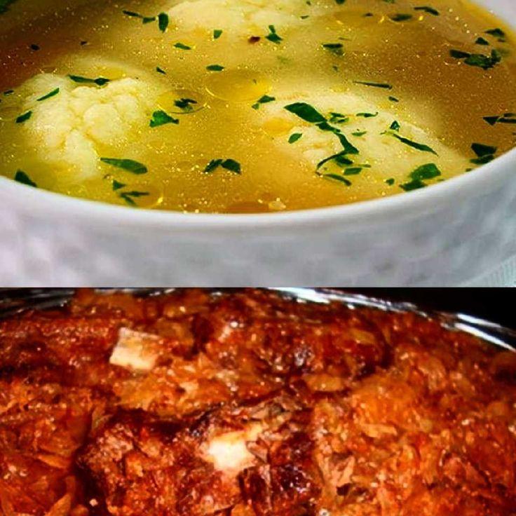 Supa cu galuste si varza calita