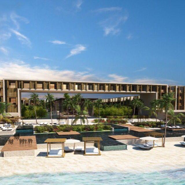 Grand Hyatt Playa del Carmen opening in Mexico. We all need that!
