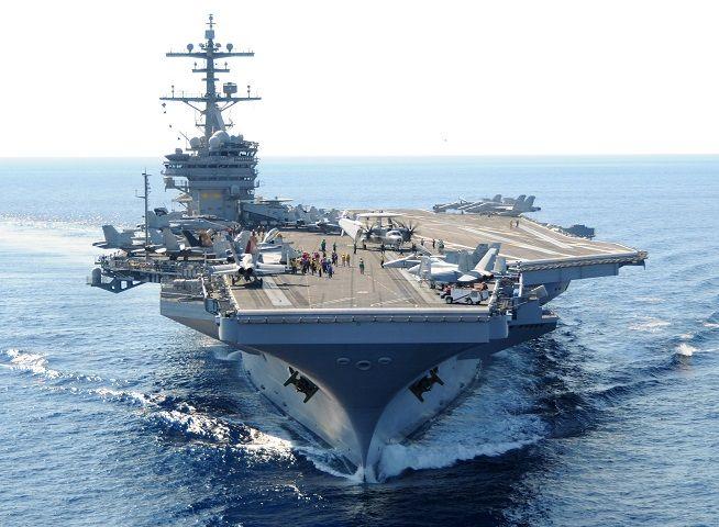 Iraq, il Pentagono invia la squadra navale della portaerei nucleare George H.W. Bush a supporto della V Flotta in Bahrain