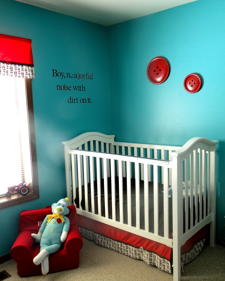 """My little """"monkey's"""" Sock Monkey Nursery <3"""