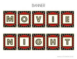 Image result for diy hollywood cinema sign banner