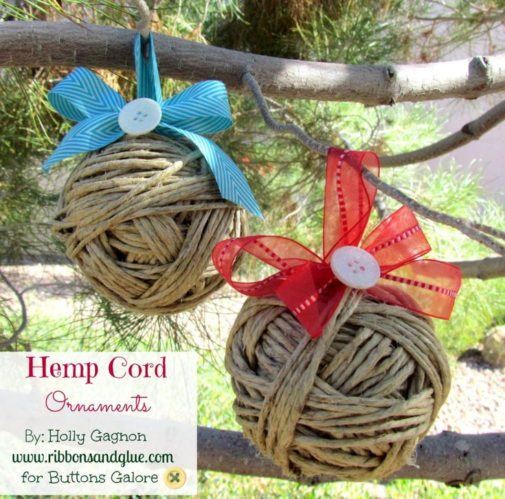 17 best images about handmade western decorations on pinterest trees handmade christmas and - Hemp rope craft ideas an authentic rustic feel ...