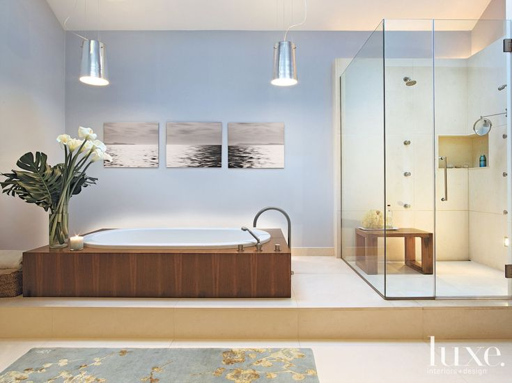30 Serene Bathrooms with Limestone Accents in 2019 ...