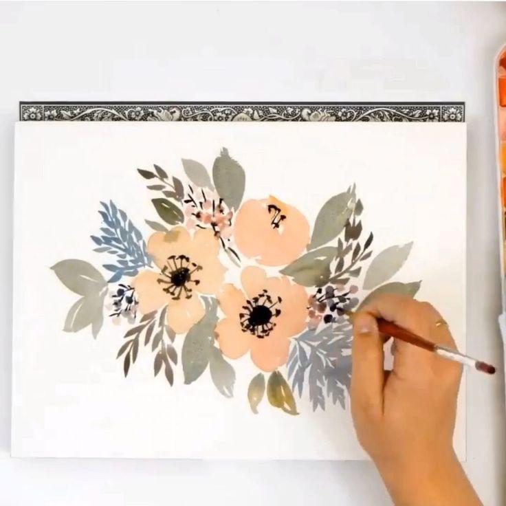 watercolor paintings for beginners videos  videos