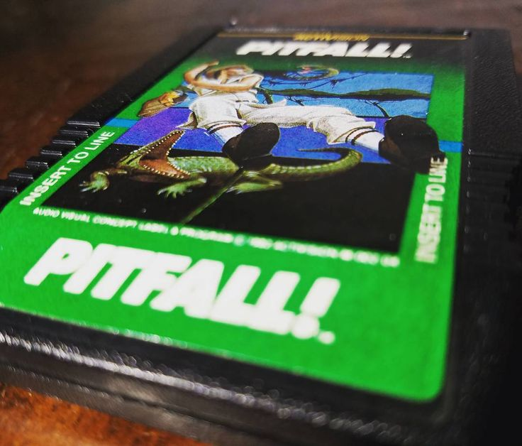 On instagram by classicgameroom #intellivision #microhobbit (o) http://ift.tt/1SyP4C4! Now on Intellivision (34 years ago) Enjoy the CGR review #pitfall  #retrogaming