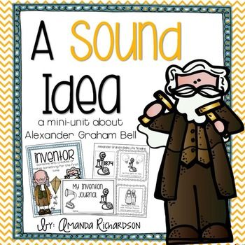 This mini-unit on Alexander Graham Bell is a great resource to be used as you teach about Alexander Graham Bell and his invention of the telephone. It is aligned with TEKS.