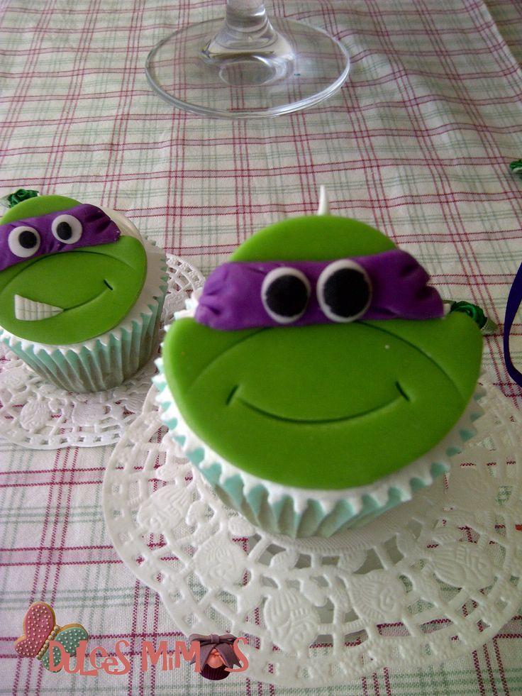cupcakes ninja turtle