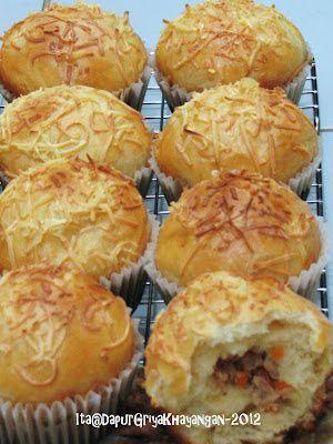 Dapur Griya Khayangan: Roti Isi Tuna Mayo