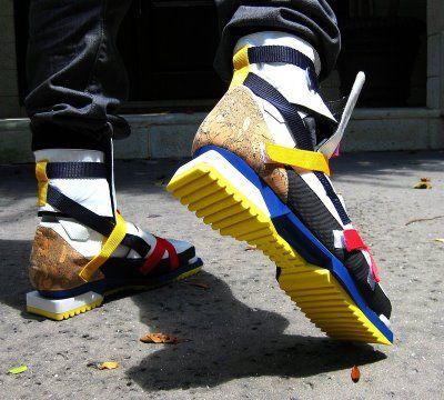 Raf Simons 'De Stijl' Sneakers.