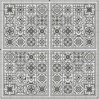 free blackwork pattern