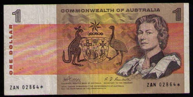 Star Note R73s 1969 Phillips/Randall $1 C of Australia VF No Reserve auction.99C