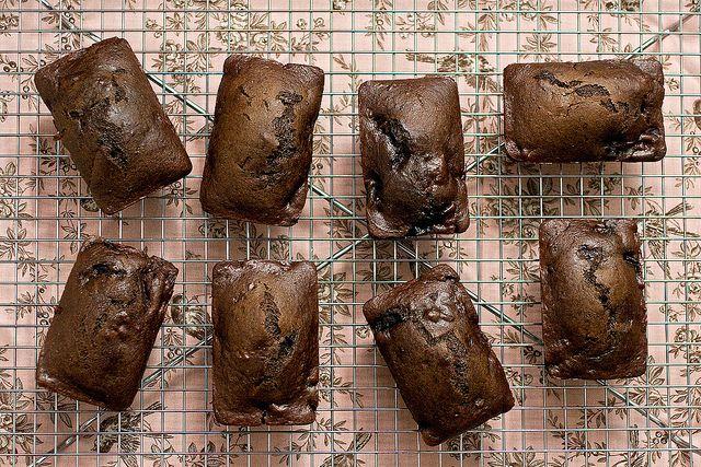 cherry chocolate chunk mini loaves (vegan)