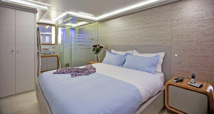 MY Barents Sea Yacht in Greece - VIP Cabin