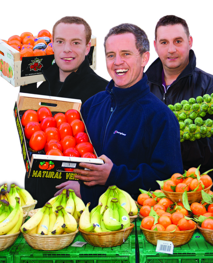 The lads from the Fruit & Veg stall on Maidenhead High Street