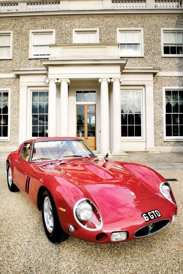 """Ferrari GTO also known as """"the greatest sports car ever made"""""""