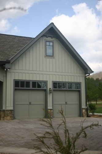 Board And Batten Garage And House On Pinterest