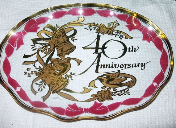 Traditional Ruby Wedding Gifts: 192 Best 40th Wedding Anniversary