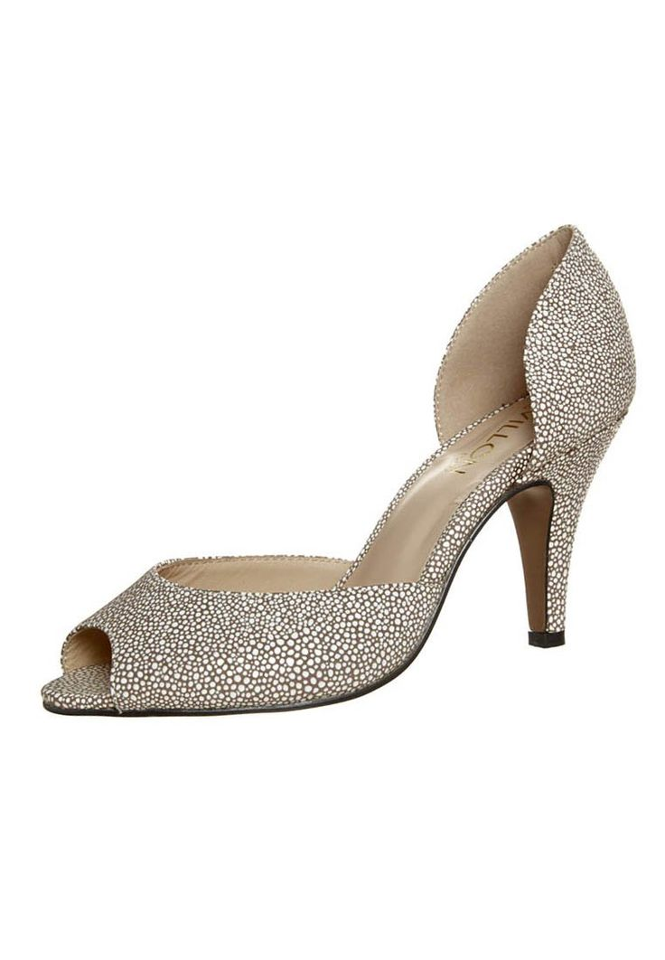 Lou Villon Paris Peep toes white