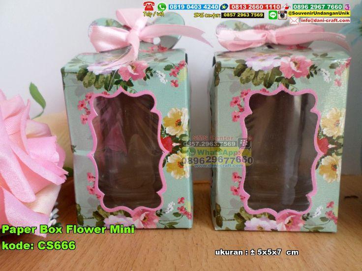 Paper Box Flower Mini (SMS/WA/Telp) 0813.2660.1110  PIN BBM: 5B 909 A4A #PaperBox #JualBox #contohundanganPernikahan